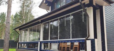 Мягкие окна на веранду