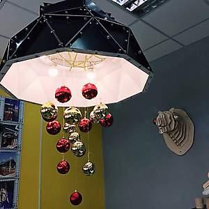 Лампа дизайнерская из композита