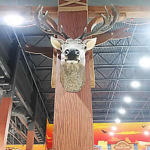 Голова оленя