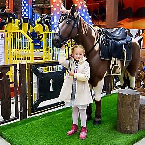 Лошадь в полный рост