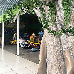 Объемные деревья и камни