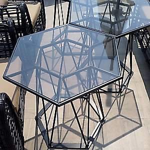 Столы шестиугольные
