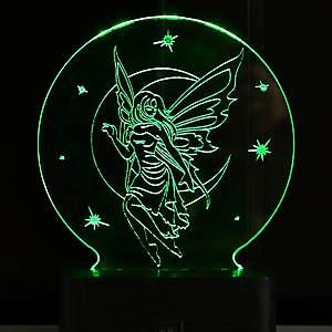 Настольные 3D светильники