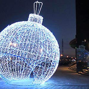 Объемный световой шар